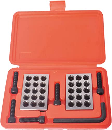 popular findmall 1-2-3 Blocks 0.0001 Ultra Precision 1-2-3 Blocks new arrival Set 23 Hole 2021 with Screws Hex Key Plastic Case outlet online sale