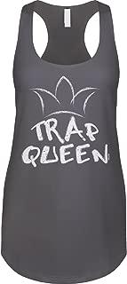 Blittzen Womens Racerback Tank Trap Queen