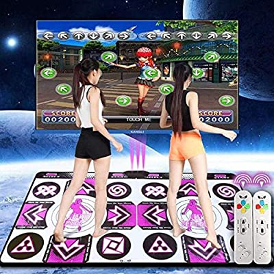 MZYKA HD 30MM Thickened Wireless TV Computer Two-Handed Dance Somatosensory Game Dance Blanket Double Dancing Machine from MZYKA