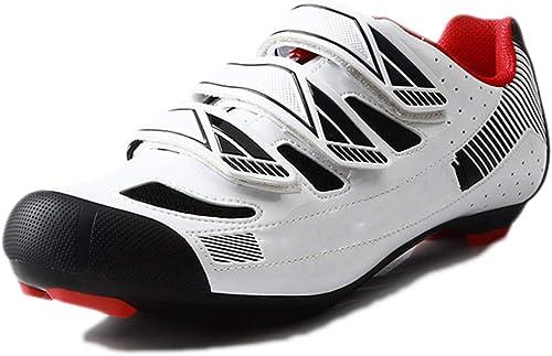 Snfgoij Hauszapatos de Ciclismo para Hombre Hauszapatos de Deporte de Carreras TransPiñables Carreteras Profesionales de Montaña TransPiñable Equipos de equitación
