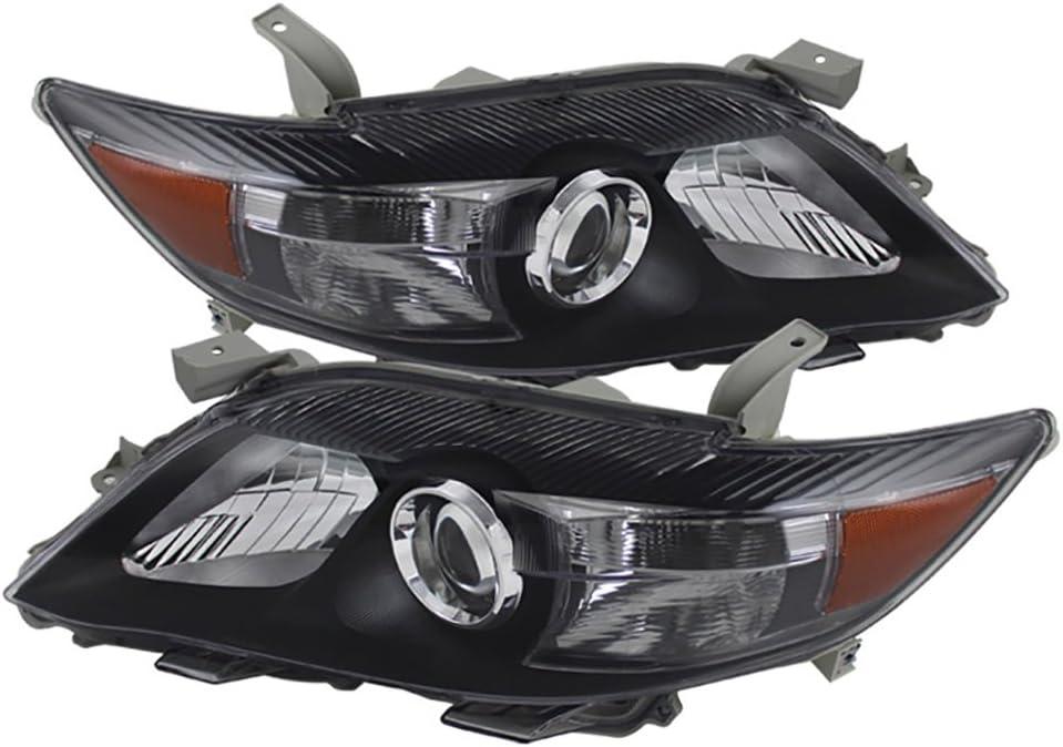 倉庫 VIPMOTOZ 公式通販 Black Housing OE-Style Headlight Headlamp Ass Projector