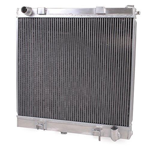 55mm High Flow Aluminium Twin Core Engine Cooling Race Radiator