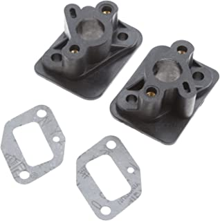 2Sets 1E40F-5 44F-5 BC430 CG430 CG520 43CC 52CC Brush Cutter Grass Trimmer Spare Parts Intake Manifold with Gasket