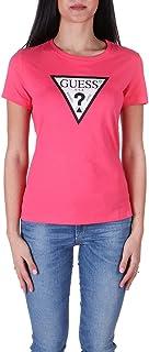 Guess Camiseta Mujer Jersey Manga Corta Fucsia W1RI00I3Z11-G63Z