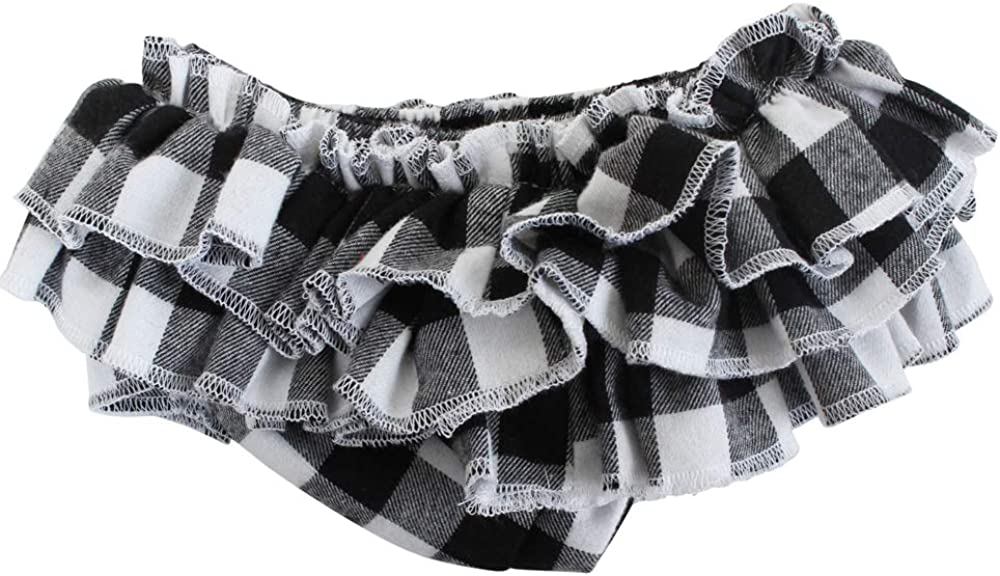 juDanzy Baby Ruffle Tutu Skirt and Diaper Cover