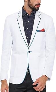 d3d132260 Mens Formal Blazer Coat Jacket Slim fit Classic Suit Business Casual Button  topwear Black-Grey