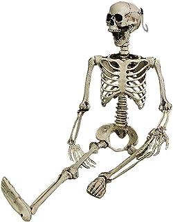 ホラー シミュレーションスカル ハロウィン 小道具 パーティーグッズ 骸骨 スケルトン 模型 怖い グッズ 小道具 お化け屋敷の飾り ハロウィン用 パーティーグッズ 演出