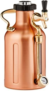 GrowlerWerks Copper uKeg Carbonated Growler, 64 oz