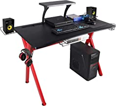 """Lazzo Stylish 41.7"""" Multifunction Computer Gaming Desk Music Workstation With.."""