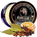 Balsamo per barba premium | Sweet Bay Rum | Beard Club | Il miglior balsamo e emolliente per barba | 100% Naturale & Organico | Ottimo per la cura dei capelli e la crescita