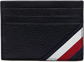Tommy Hilfiger Downtown Card Case Holder, Black, AM0AM05651