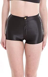 Women's Shiny Satin Metallic Wet Look Sexy Short Hot Pants 9 Colors