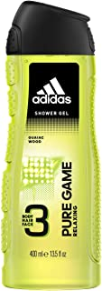 adidas Pure Game 3In1 Body, Hair And Face Shower Gel 400 ml