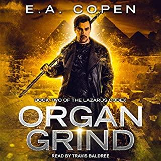 Organ Grind audiobook cover art