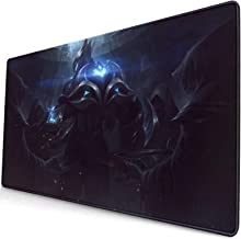 League-of Legends Zed Large Game Mouse Pad, Non Slip Rubber Base, Office and Home(40x75cm)