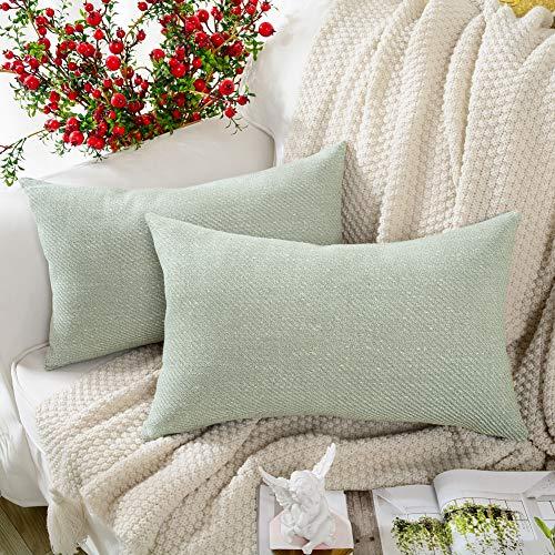 Soft decorative pillows