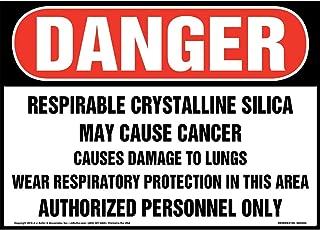 Danger: Respirable Crystalline Silica Sign - J. J. Keller & Associates - 14