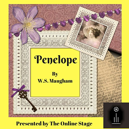 Penelope audiobook cover art
