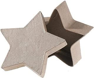 Darice Bulk Buy DIY Paper Mache Box Star 4 inch (6-Pack) 2833-28