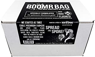 Boomr Bag 5lb | Manure Based Bulk Substrate Blend | Grow Edible Mushrooms at Home