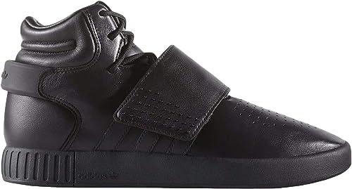 Adidas Tubular Invader Strap Chaussures pour Homme, Noir (Negbas Negbas Neguti) 38