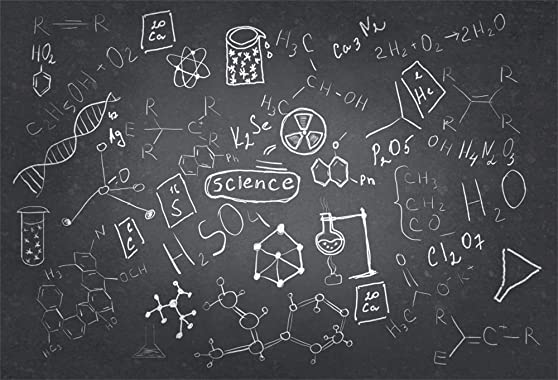 AOFOTO 8x6ft Chemistry Course Classroom