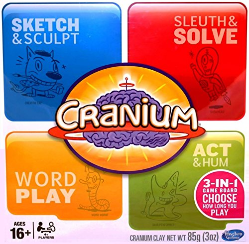 Hasbro Cranium 3-in-1 Game Board (2014) by