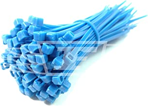 100 x Cable Ties (Pick Your Colour) / TIE Wraps/Zip Ties, 2.5mm x 100mm + Free UK DELIVERY (Blue)