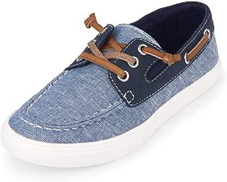 The Children's Place Unisex-Child Lace Up Boat Shoe