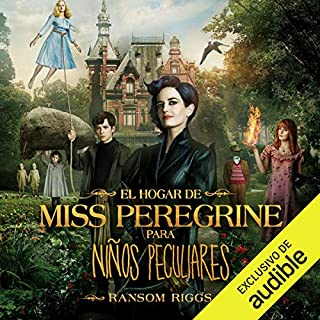 El hogar de Miss Peregrine para niños peculiares                   Written by:                                                                                                                                 Ransom Riggs                               Narrated by:                                                                                                                                 Ignacio Latorre                      Length: 11 hrs and 30 mins     Not rated yet     Overall 0.0