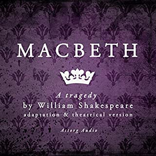 Macbeth: a tragedy by William Shakespeare cover art