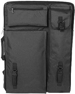 Art Bag-multifunzionale grande 4K impermeabile tavolo da disegno borsa per il trasporto Art Supplies Bag(Nero)