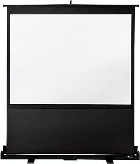 サンワダイレクト プロジェクタースクリーン 72インチ 自立式床置き型 携帯型ロールスクリーン 100-PRS007