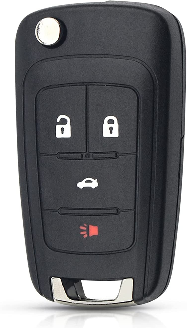 FLJKCT Sales results Max 47% OFF No. 1 4 Buttons Replacement Remote Car Key Insig OPEL Shell for