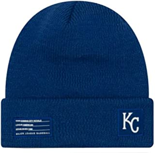 New Era Kansas City Royals Beanie MLB 2018-19 On Field Sport Knit Cap Blue Adult One Size