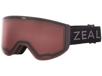 Zeal Optics Hatchet (Dark Night w/ Automatic+ RB + Persimmon Sky Blue Lens) Snow Goggles