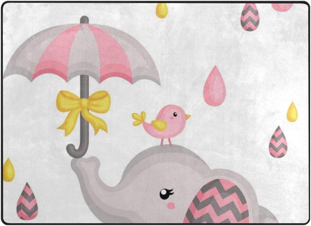 High quality Vantaso Soft Foam Nursery Rugs Cute Elephant Play Slip New arrival Bird Non