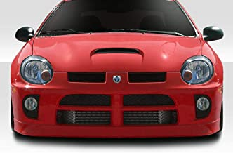 Extreme Dimensions Duraflex Replacement for 2003-2005 Dodge Neon SRT4 Look Front Bumper - 1 Piece