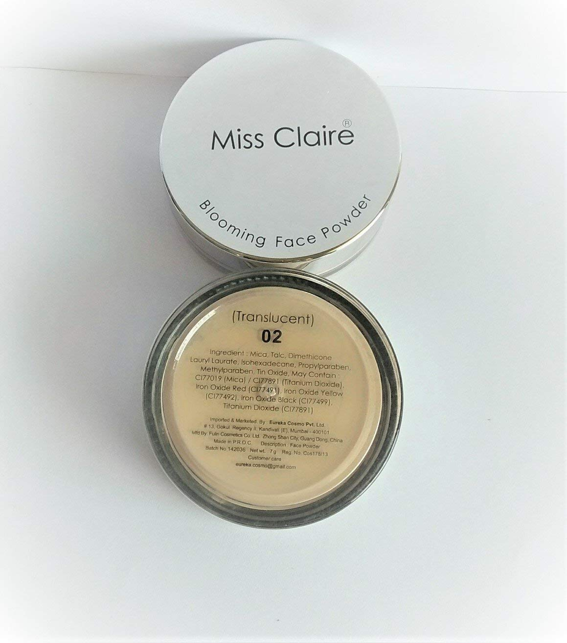 Miss High material Claire Face Powder Popular products Transcluscent 02 -