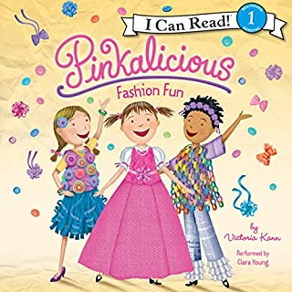 Pinkalicious: Fashion Fun audiobook cover art