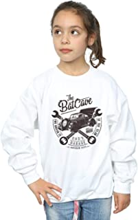 DC Comics Girls Batman My Dad's Garage Sweatshirt