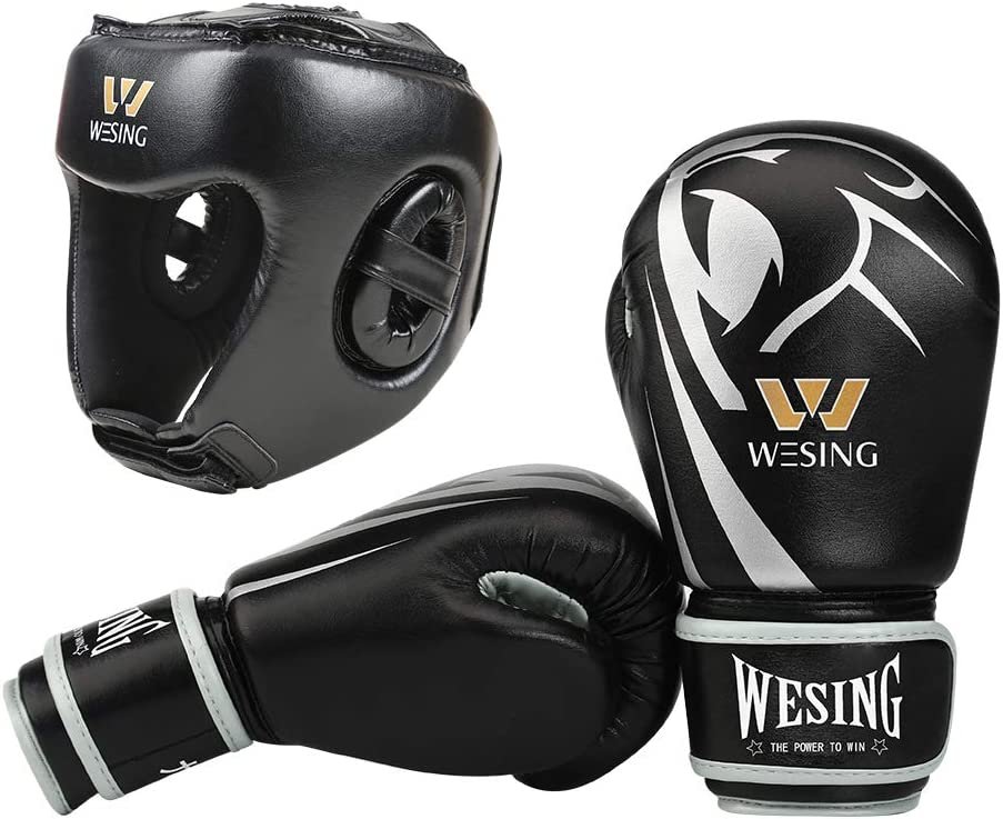 WESING Boxing Gloves Sale special price for Kids Headgear with Ranking TOP12 Protective Ge