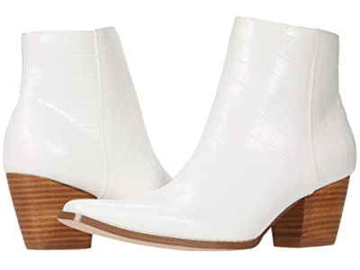 Matisse Spade (White Croc Synthetic) Women