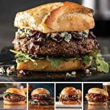 Butcher's Burger Assortment from Omaha Steaks (Filet Mignon Burgers, Delmonico Burgers, Omaha Steaks Burgers, Gourmet Burgers, and Brisket Burgers)