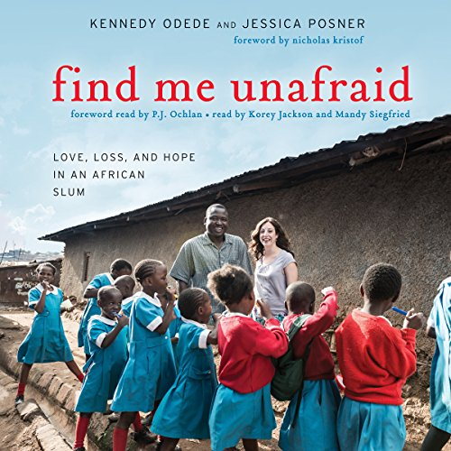 Find Me Unafraid audiobook cover art