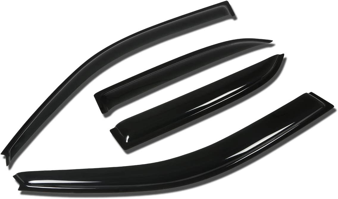 Ranking TOP20 Compatible Seattle Mall with Camry XV10 4DR Visor Tape-On 4pcs Window Deflect