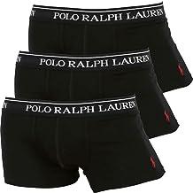 (ポロラルフローレン) POLO RALPH LAUREN ボクサーパンツ メンズ 3枚セット ローライズ丈 ローライズボクサー 男性 下着 無地 ロゴ 彼氏 父 プレゼント ギフト 大きいサイズ 3枚組 セット [並行輸入品]