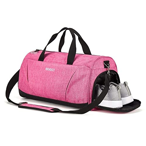 d1863147b831 Sports Gym Bag with Shoes Compartment for Men and Women