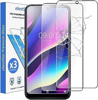 ebestStar – kompatibel med Wiko View3 pansarglas [x3 pack] (2019) skyddsfolie glas, skyddsglas skärmskydd, displayskyddsfo...