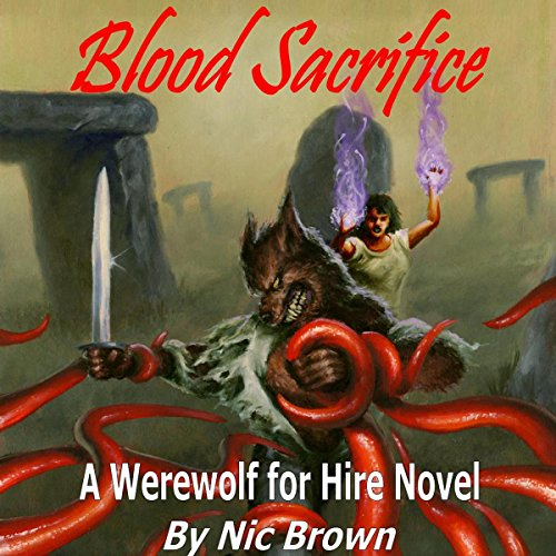 Blood Sacrifice audiobook cover art